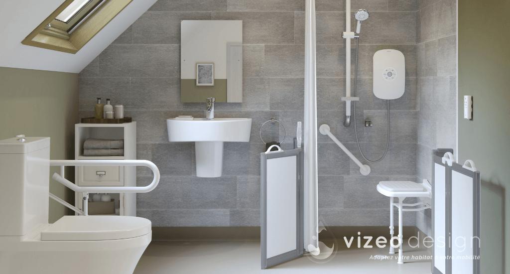 Vizeo Design Travaux De Renovation Pour Pmr Senior Paris Idf